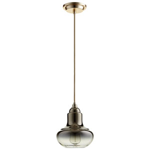 Camille Satin Gold One-Light Pendant