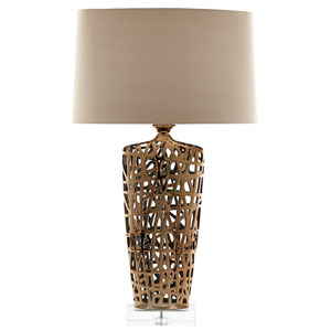 Elethea Gold One-Light Table Lamp