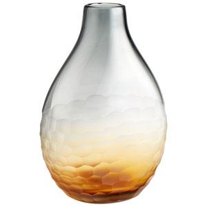 Liliana Amber and Smoked Small Vase