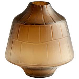Oriana Amber Small Vase