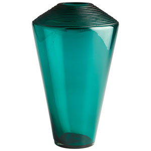 Pietro Green Vase