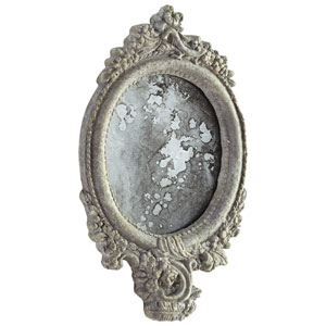 Ansley Antique Ash Mirror