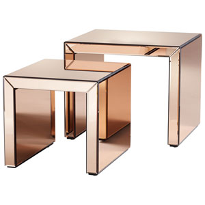 Abigail Copper Nesting Tables