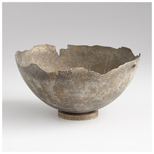 Pompeii Whitewashed Small Bowl