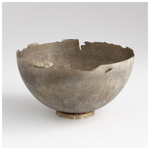 Pompeii Whitewashed Medium Bowl