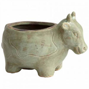 Friendly Cow Planter
