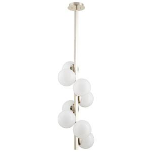 Atom Eight-Light Pendant
