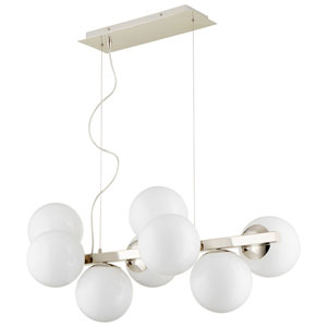 Atom Eight-Light Pendant
