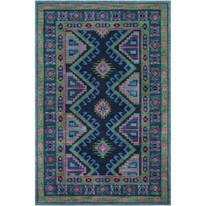 Arabia Nadine Blue Rectangular: 2 Ft. x 3 Ft. Rug
