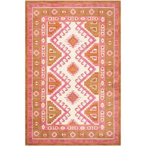 Arabia Nadine Pink Rectangular: 2 Ft. x 3 Ft. Rug