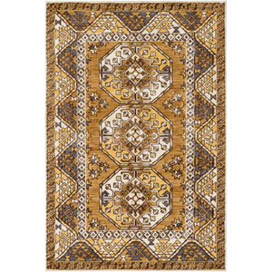 Arabia Nadine Yellow Rectangular: 2 Ft. x 3 Ft. Rug