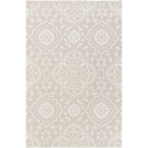 Annette Ruby Ivory and Beige Rectangular: 2 Ft. x 3 Ft. Rug