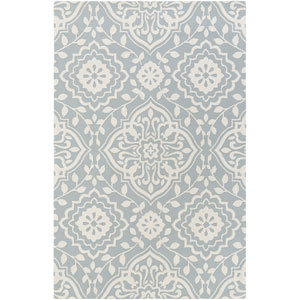 Annette Ruby Mint and Ivory Rectangular: 2 Ft. x 3 Ft. Rug