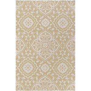 Annette Ruby Straw and Ivory Rectangular: 2 Ft. x 3 Ft. Rug
