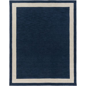Holden Blair Navy and Ivory Rectangular: 7 Ft 6 In x 9 Ft 6 In Rug