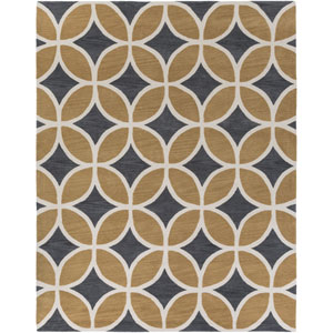 Holden Mackenzie Charcoal and Sand Rectangular: 7 Ft 6 In x 9 Ft 6 In Rug