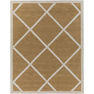 Holden Layla Burnt Orange and Ivory Rectangular: 7 Ft 6 In x 9 Ft 6 In Rug
