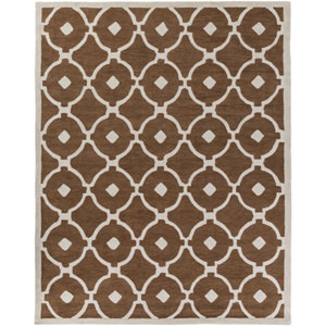 Holden Hazel Brown and Ivory Rectangular: 7 Ft 6 In x 9 Ft 6 In Rug