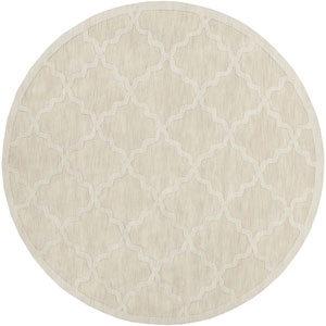 Central Park Abbey Beige Round: 7 Ft 9 In Rug