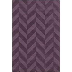 Central Park Carrie Purple Rectangular: 10 Ft x 14 Ft Rug