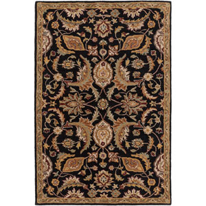 Middleton Amelia Black Rectangular: 3 Ft. x 5 Ft. Rug