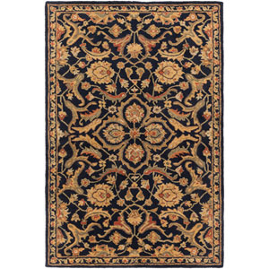 Middleton Ava Navy Runner: 2 Ft. 3-Inch x 8 Ft.