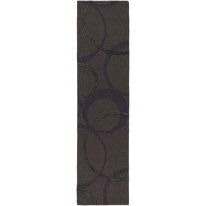 Alexander Ross Charcoal Runner: 2 Ft. x 8 Ft.