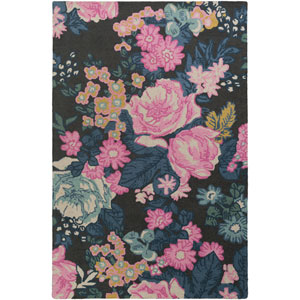 Botany Eli Multicolor Pink Rectangular: 4 Ft. x 6 Ft. Rug