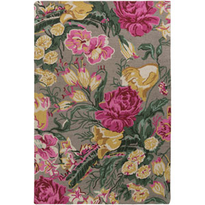 Botany Paisley Multicolor Taupe Rectangular: 4 Ft. x 6 Ft. Rug