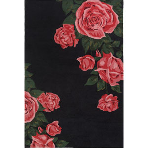 Botany Cora Red Rectangular: 4 Ft. x 6 Ft. Rug