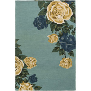 Botany Cora Mint Rectangular: 4 Ft. x 6 Ft. Rug