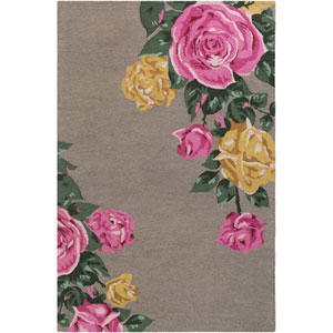 Botany Cora Multicolor Taupe Rectangular: 4 Ft. x 6 Ft. Rug