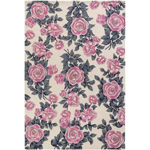 Botany Quinn Pink Rectangular: 4 Ft. x 6 Ft. Rug