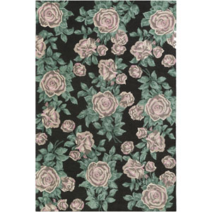 Botany Quinn Green Rectangular: 4 Ft. x 6 Ft. Rug