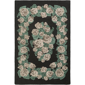 Botany Gianna Green Rectangular: 4 Ft. x 6 Ft. Rug