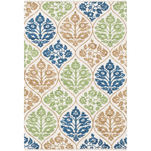 Elaine Luke Multicolor Rectangular: 2 Ft. x 3 Ft. Rug