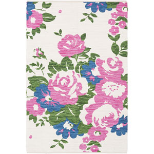 Elaine Carter Multicolor Rectangular: 2 Ft. x 3 Ft. Rug