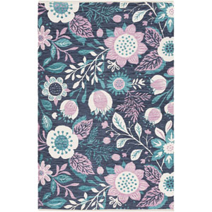 Elaine Levi Multicolor Rectangular: 2 Ft. x 3 Ft. Rug