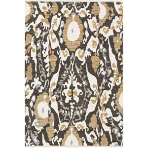 Elaine Hudson Brown Rectangular: 2 Ft. x 3 Ft. Rug