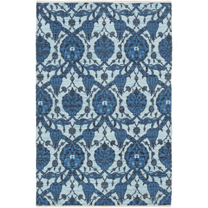 Elaine Landon Blue Rectangular: 2 Ft. x 3 Ft. Rug