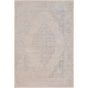 Ephesus Blakely Beige and Taupe Rectangular: 2 Ft. x 3 Ft. Rug