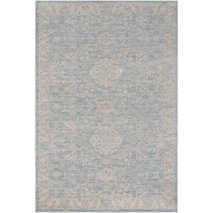 Ephesus Dody Light Blue Rectangular: 2 Ft. x 3 Ft. Rug