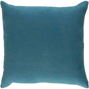 Ethiopia Cape Town Teal 18 x 18 In. Pillow with Poly Fill