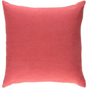 Ethiopia Cape Town 18-Inch Terra Cotta Pillow Cover