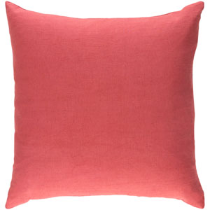 Ethiopia Cape Town Terra Cotta 18 x 18 In. Pillow with Poly Fill