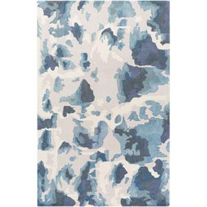 Geology Lillian Blue Rectangular: 4 Ft. x 6 Ft. Rug