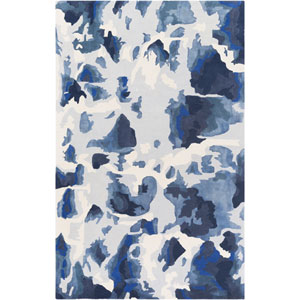 Geology Lillian Blue Rectangular: 4 Ft. x 6 Ft. Rug