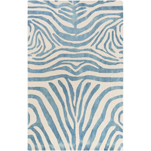 Geology Parker Blue Rectangular: 4 Ft. x 6 Ft. Rug