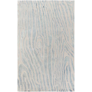 Geology Blake Blue Rectangular: 4 Ft. x 6 Ft. Rug