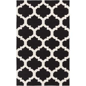 York Harlow Black and White Rectangular: 2 Ft x 3 Ft Rug